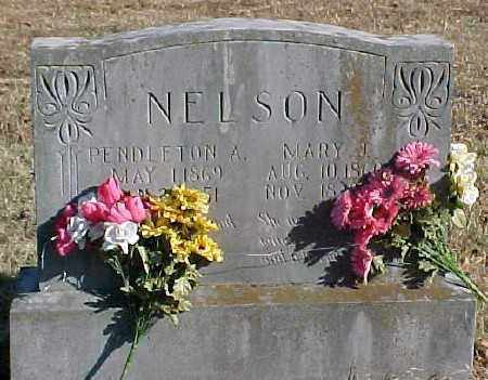 MILLIGAN NELSON, MARY J. - Marion County, Arkansas | MARY J. MILLIGAN NELSON - Arkansas Gravestone Photos