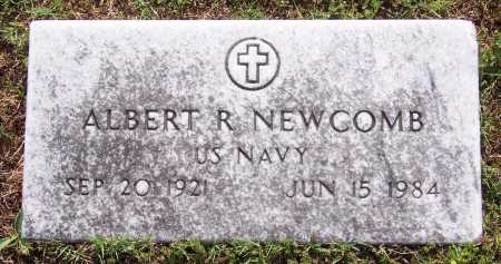 NEWCOMB (VETERAN), ALBERT R. - Marion County, Arkansas | ALBERT R. NEWCOMB (VETERAN) - Arkansas Gravestone Photos