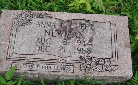 NEWMAN, ANNA L. - Marion County, Arkansas | ANNA L. NEWMAN - Arkansas Gravestone Photos
