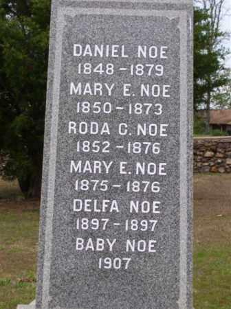 NOE, DANIEL - Marion County, Arkansas | DANIEL NOE - Arkansas Gravestone Photos