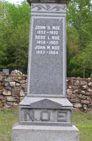 NOE, II, JOHN D. - Marion County, Arkansas | JOHN D. NOE, II - Arkansas Gravestone Photos