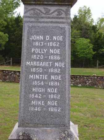 NOE, JOHN D. - Marion County, Arkansas | JOHN D. NOE - Arkansas Gravestone Photos