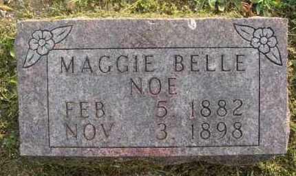 NOE, MAGGIE BELLE - Marion County, Arkansas | MAGGIE BELLE NOE - Arkansas Gravestone Photos