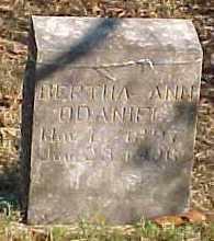 O'DANIEL, BERTHA ANN - Marion County, Arkansas | BERTHA ANN O'DANIEL - Arkansas Gravestone Photos