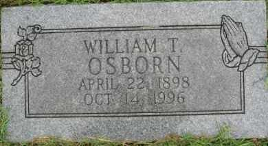 OSBORN, WILLIAM T. - Marion County, Arkansas | WILLIAM T. OSBORN - Arkansas Gravestone Photos