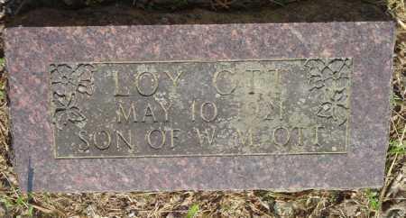 OTT, LOY - Marion County, Arkansas | LOY OTT - Arkansas Gravestone Photos