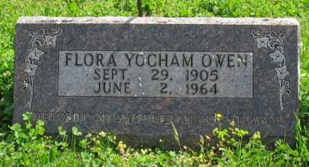 YOCHAM OWEN, FLORA - Marion County, Arkansas | FLORA YOCHAM OWEN - Arkansas Gravestone Photos