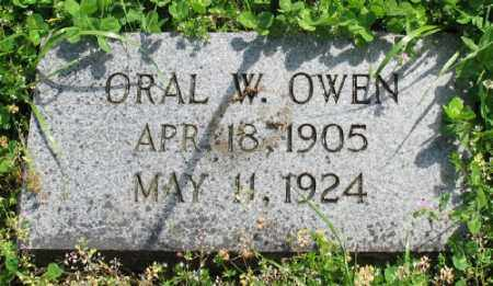 OWEN, ORAL W. - Marion County, Arkansas | ORAL W. OWEN - Arkansas Gravestone Photos