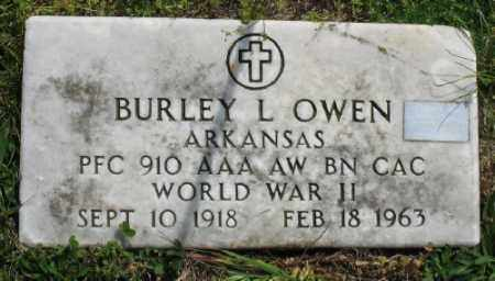 OWEN (VETERAN WWII), BURLEY L - Marion County, Arkansas | BURLEY L OWEN (VETERAN WWII) - Arkansas Gravestone Photos