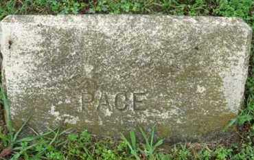 PACE, (NO FIRST NAME LISTED) - Marion County, Arkansas | (NO FIRST NAME LISTED) PACE - Arkansas Gravestone Photos