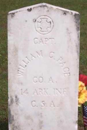 PACE (VETERAN CSA), WILLIAM CARROLL - Marion County, Arkansas | WILLIAM CARROLL PACE (VETERAN CSA) - Arkansas Gravestone Photos