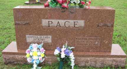 "PACE, WILLIAM THOMPSON ""THOMPS"" - Marion County, Arkansas 
