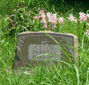 PARNELL, A. T. (TIP) - Marion County, Arkansas | A. T. (TIP) PARNELL - Arkansas Gravestone Photos