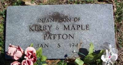 PATTON, INFANT SON - Marion County, Arkansas | INFANT SON PATTON - Arkansas Gravestone Photos