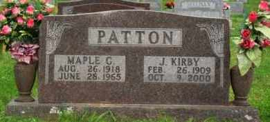 PATTON, MAPLE C. - Marion County, Arkansas | MAPLE C. PATTON - Arkansas Gravestone Photos