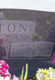 PATTON, NINA R. - Marion County, Arkansas | NINA R. PATTON - Arkansas Gravestone Photos