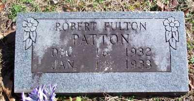 PATTON, ROBERT FULTON - Marion County, Arkansas | ROBERT FULTON PATTON - Arkansas Gravestone Photos