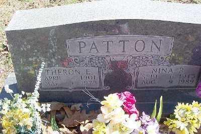 PATTON, THERON E. - Marion County, Arkansas | THERON E. PATTON - Arkansas Gravestone Photos