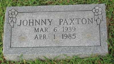 PAXTON, JOHNNY - Marion County, Arkansas | JOHNNY PAXTON - Arkansas Gravestone Photos
