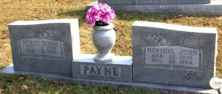PLUMLEE PAYNE, MURIEL MARIE - Marion County, Arkansas | MURIEL MARIE PLUMLEE PAYNE - Arkansas Gravestone Photos