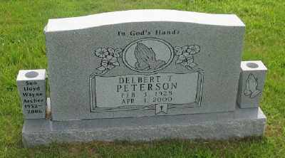 PETERSON, DELBERT T. - Marion County, Arkansas | DELBERT T. PETERSON - Arkansas Gravestone Photos