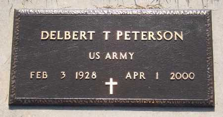PETERSON (VETERAN), DELBERT T. - Marion County, Arkansas | DELBERT T. PETERSON (VETERAN) - Arkansas Gravestone Photos