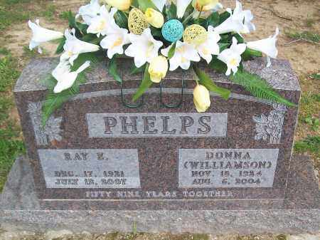 WILLIAMSON PHELPS, DONNA - Marion County, Arkansas | DONNA WILLIAMSON PHELPS - Arkansas Gravestone Photos