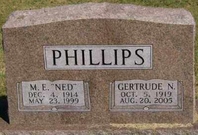 "PHILLIPS, M. E. ""NED"" - Marion County, Arkansas 