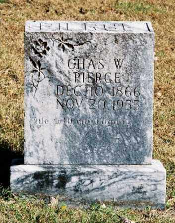 PIERCE, CHARLES W. - Marion County, Arkansas | CHARLES W. PIERCE - Arkansas Gravestone Photos