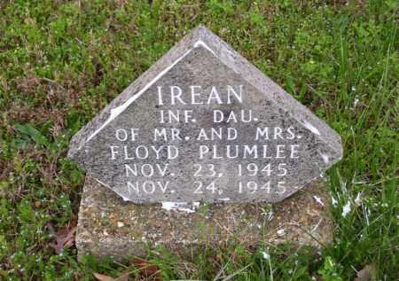 PLUMLEE, IREAN - Marion County, Arkansas | IREAN PLUMLEE - Arkansas Gravestone Photos