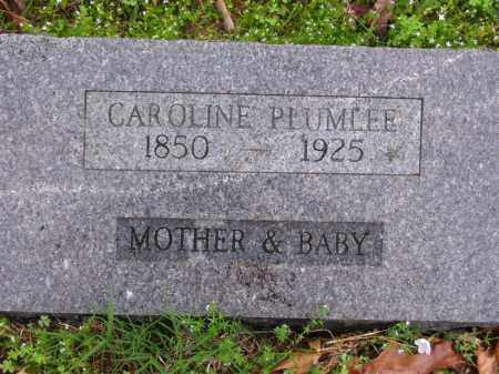 PIERSON PLUMLEE, CAROLINE - Marion County, Arkansas | CAROLINE PIERSON PLUMLEE - Arkansas Gravestone Photos