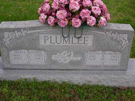 PLUMLEE, MABEL LORENE - Marion County, Arkansas | MABEL LORENE PLUMLEE - Arkansas Gravestone Photos