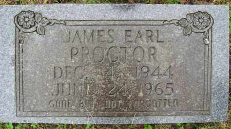 PROCTOR, JAMES EARL - Marion County, Arkansas | JAMES EARL PROCTOR - Arkansas Gravestone Photos