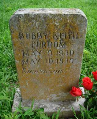 PURDOM, BOBBY KEITH - Marion County, Arkansas | BOBBY KEITH PURDOM - Arkansas Gravestone Photos