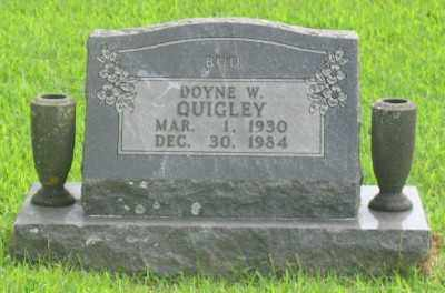 QUIGLEY, DOYLE W. - Marion County, Arkansas | DOYLE W. QUIGLEY - Arkansas Gravestone Photos