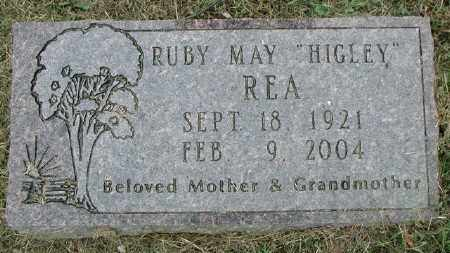 HIGLEY REA, RUBY MAY - Marion County, Arkansas | RUBY MAY HIGLEY REA - Arkansas Gravestone Photos