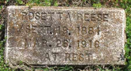REESE, ROSETTA - Marion County, Arkansas | ROSETTA REESE - Arkansas Gravestone Photos