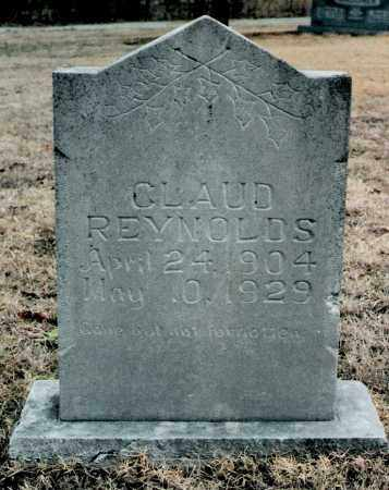 REYNOLDS, CLAUD - Marion County, Arkansas | CLAUD REYNOLDS - Arkansas Gravestone Photos