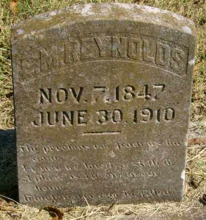REYNOLDS, EDWARD M. - Marion County, Arkansas | EDWARD M. REYNOLDS - Arkansas Gravestone Photos