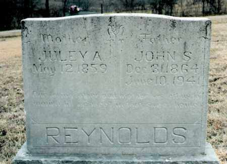 REYNOLDS, JOHN S. - Marion County, Arkansas | JOHN S. REYNOLDS - Arkansas Gravestone Photos