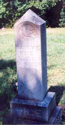 RICE, NANCY ELLENDER - Marion County, Arkansas | NANCY ELLENDER RICE - Arkansas Gravestone Photos