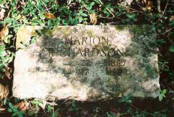 RICHARDSON, MARION FRANCIS - Marion County, Arkansas | MARION FRANCIS RICHARDSON - Arkansas Gravestone Photos
