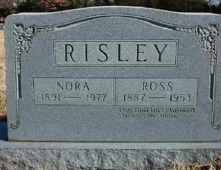 RISLEY, NORA - Marion County, Arkansas | NORA RISLEY - Arkansas Gravestone Photos