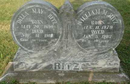 RITZ, DELLA MAY - Marion County, Arkansas | DELLA MAY RITZ - Arkansas Gravestone Photos