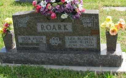 ROARK, LEE  RUDELL - Marion County, Arkansas | LEE  RUDELL ROARK - Arkansas Gravestone Photos