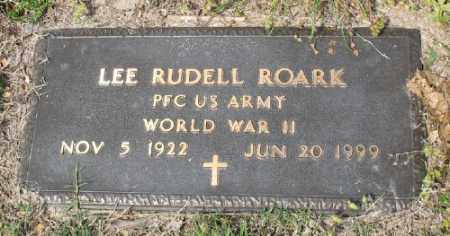 ROARK (VETERAN WWII), LEE RUDELL - Marion County, Arkansas | LEE RUDELL ROARK (VETERAN WWII) - Arkansas Gravestone Photos