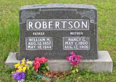 "ROBERTSON, NANCY GENNETTE ""NETTIE"" - Marion County, Arkansas 