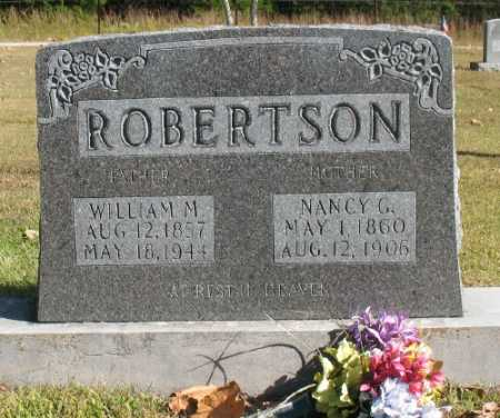 "ROBERTSON, WILLIAM MARION ""WILLIE"" - Marion County, Arkansas 