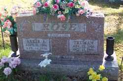 ROSE, ARKIE A. - Marion County, Arkansas | ARKIE A. ROSE - Arkansas Gravestone Photos