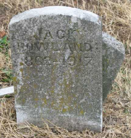ROWLAND, JACK - Marion County, Arkansas | JACK ROWLAND - Arkansas Gravestone Photos